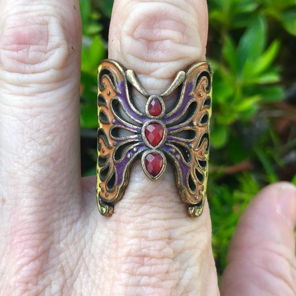 Jewelry - ‼️SOLD‼️Vintage 1970s Butterfly Ring